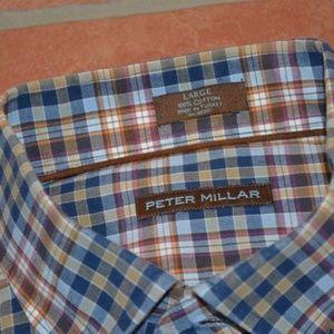 7892 Mens Peter Millar Dress Shirt Size Large